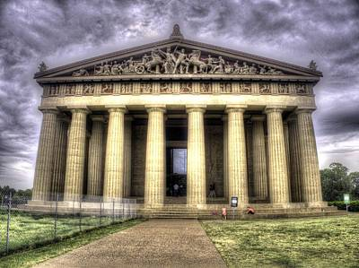 Monastiraki Photograph - The Parthenon In Nashville V2 by John Straton