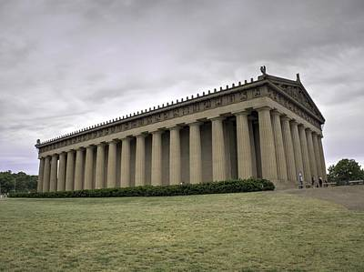 Monastiraki Photograph - The Parthenon In Nashville V3 by John Straton