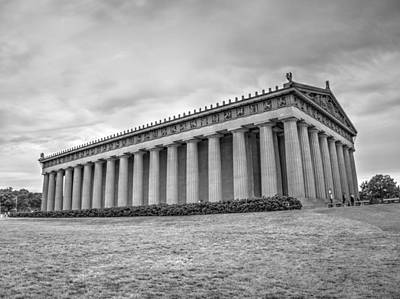 Monastiraki Photograph - The Parthenon In Nashville V3b by John Straton