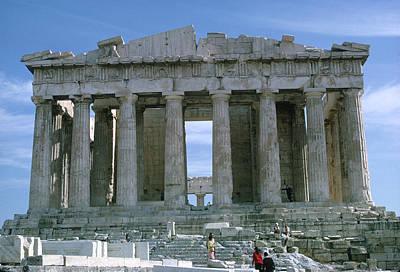 Photograph - The Parthenon by John Farley