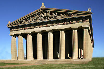 Photograph - The Parthenon-nashville Tn by Ericamaxine Price
