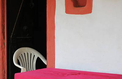 Photograph - The Partial Chair by Prakash Ghai