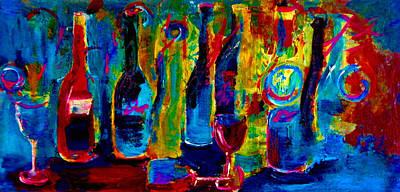 The Party Has Just Begun Original by Lisa Kaiser