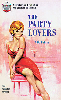 Painting - The Party Lovers by Unknown Artist