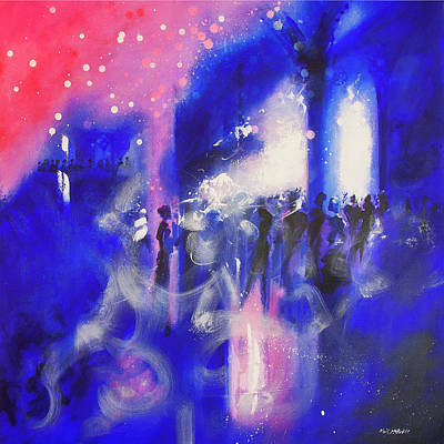 Wall Art - Painting - The Party by Neil McBride