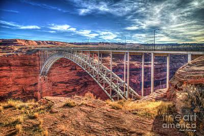 Photograph - The Passage Glen Canyon Bridge Grand Canyon National Park Arizona Art  by Reid Callaway