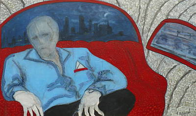Painting - The Passenger by Todd  Peterson