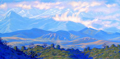 Malibu Painting - The Passing Storm by Elena Roche