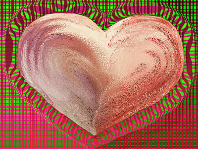 Photograph - The Passionate Heart by David Pantuso