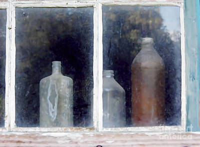 Photograph - The Past In The Window by D Hackett