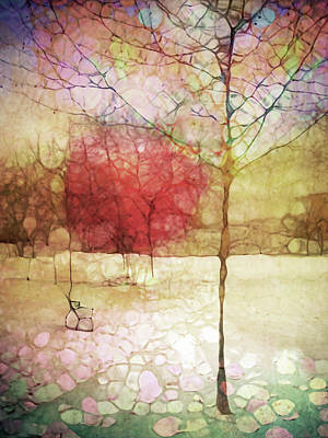 The Pastel Dreams Of Yesterday Art Print