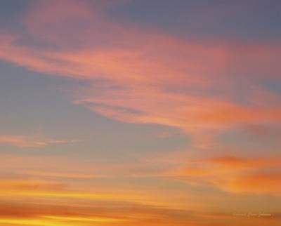 Photograph - The Pastel Sky by Deborah  Crew-Johnson