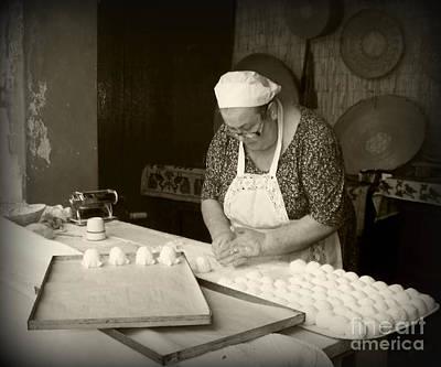 Priska Wettstein Pink Hues - The Pastry Maker, Sardinia by Susan Lafleur