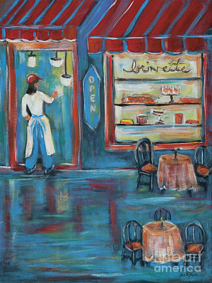 Painting - The Pastry Shop by Pati Pelz