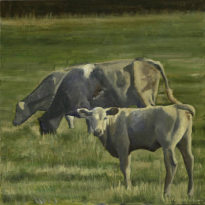 The Pasture Art Print by John Reynolds
