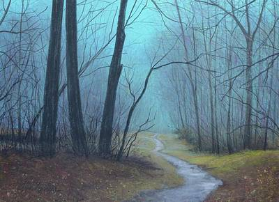 Painting - The Path Ahead by Gary Edward Jennings