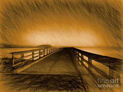 Photograph - The Path Lights The Way by Scott Cameron