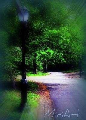 Art Print featuring the photograph The Path by Miriam Shaw