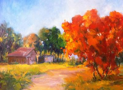 Painting - The Path Nearby by Patricia Lyle
