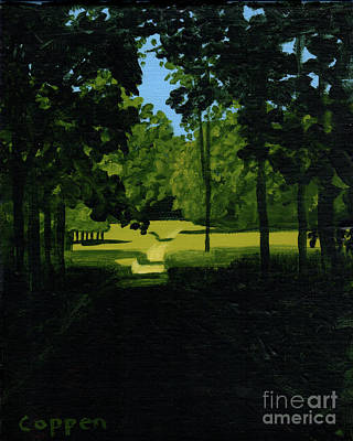 Painting - Path Through The River Meadows by Robert Coppen
