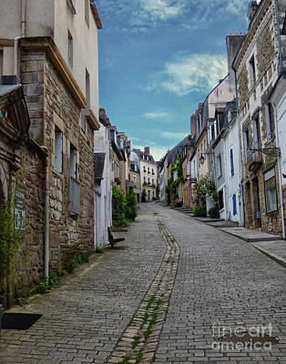 Photograph - The Path To Auray Brittany by Lynn Bolt