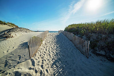 Photograph - The Path To Second Beach Newport, Ri by Toby McGuire