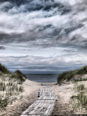 The Path To The Beach Art Print by Jouko Lehto