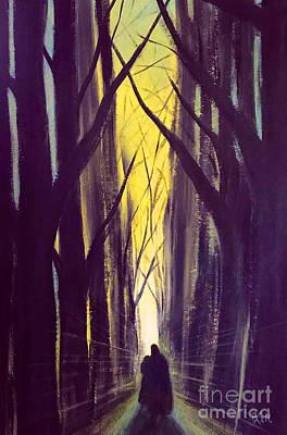 Painting - The Path by Wonju Hulse