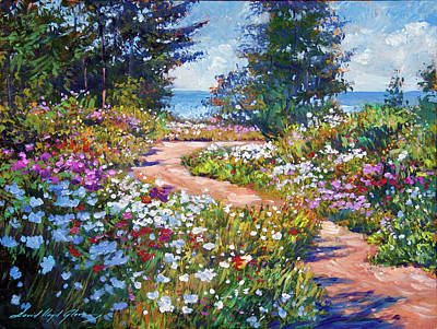 Painting - The Pathway To The Sea by David Lloyd Glover