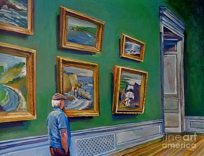 Bfa Painting - The Patron by Vanessa Hadady BFA MA
