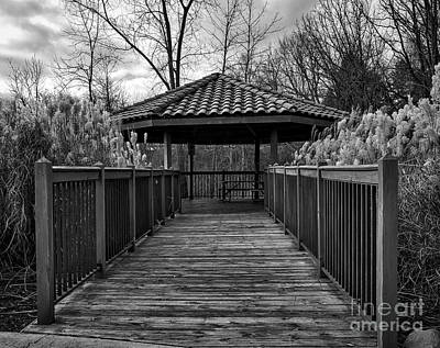 Photograph - The Pavilion By The River by Kirt Tisdale
