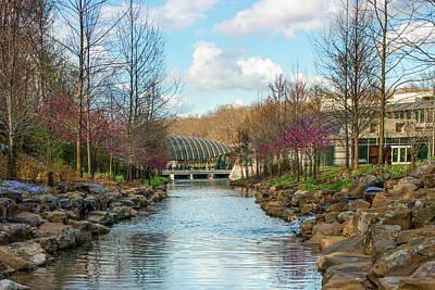 Photograph - The Pavilion - Crystal Bridges Art Museum - Bentonville Arkansas by Gregory Ballos