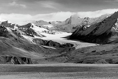 Photograph - The Paxson Glacier by Peter J Sucy