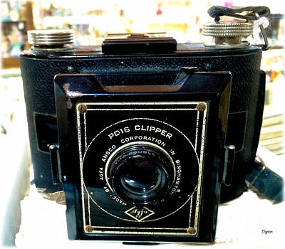 Ansco Photograph - The Pd16 Clipper  by Steven Digman