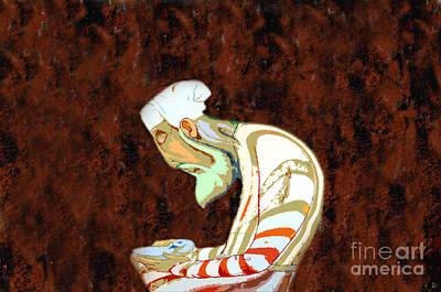 Old Man Digital Art - The Peaceful Man by David Lee Thompson