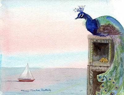 The Peacock's Lair Art Print