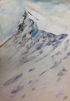 Painting - The Peak by Desmond Raymond