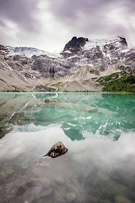 Photograph - The Peak In A Turquoise Lake by Pierre Leclerc Photography