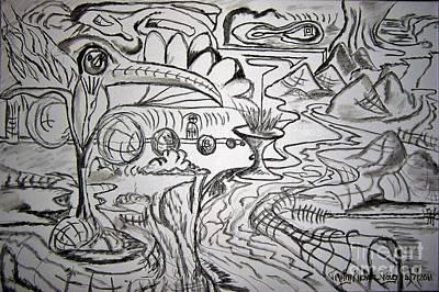 Beastie Boys - The Peak of the Beak Drawing by Timothy Michael Foley
