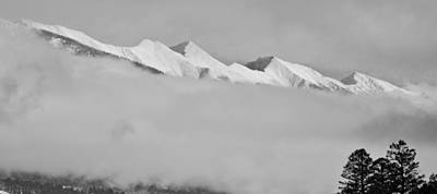 Photograph - The Peaking Peaks by Kevin Munro