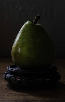 Photograph - The Pear Saga  A Pears View by Rae Ann  M Garrett