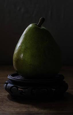 Photograph - The Pear Saga  A Pears View by Rae Ann  M Garrett