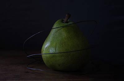 Photograph - The Pear Saga - Boundaries by Rae Ann  M Garrett