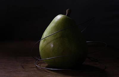Photograph - The Pear Saga  The Capture by Rae Ann  M Garrett