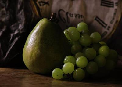 Photograph - The Pear Saga - The Essence Of Its Time by Rae Ann  M Garrett