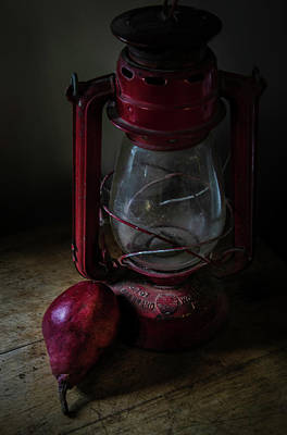 Photograph - The Pear Saga - Theres A Light by Rae Ann  M Garrett