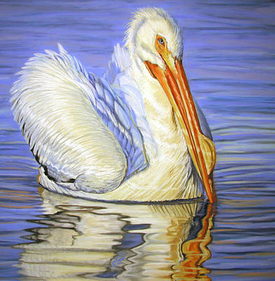 Water Fowl Painting - The Pearl Of Florida by Deb LaFogg-Docherty