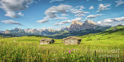 Photograph - The Pearl Of South Tyrol by JR Photography