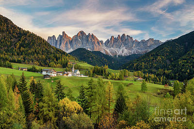 Photograph - The Pearl Of The Dolomites by JR Photography