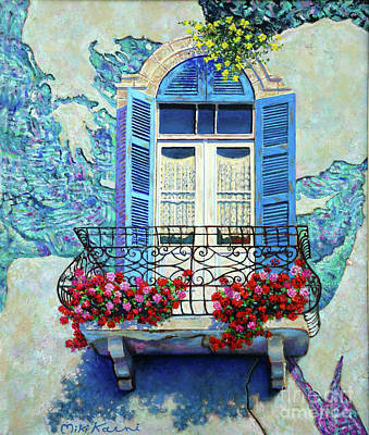 Painting - The Pearl Of The Mediterranean. by Miki Karni